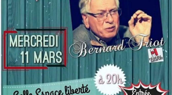 Conférence interrompue de Bernard Friot
